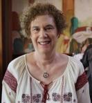 Elise in 60s garb