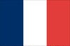 France's Tricolor, first adopted in 1794, during the 1st French Revolution, still in use in 1968.