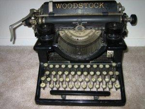 """Woodstock"" typewriter - really?"