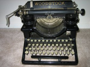 """Woodstock"" typewriter - really?"