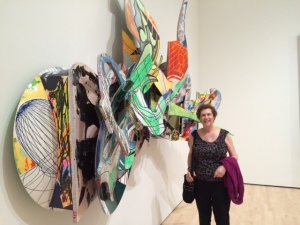 "Frank Stella's ""rebuilt painting"" at the newly-reopened San Francisco Museum of Modern Art"