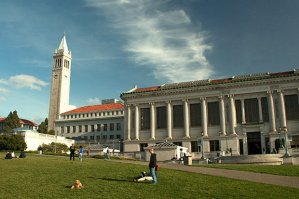 Sproul Hall and Campanile, UC Berkeley.